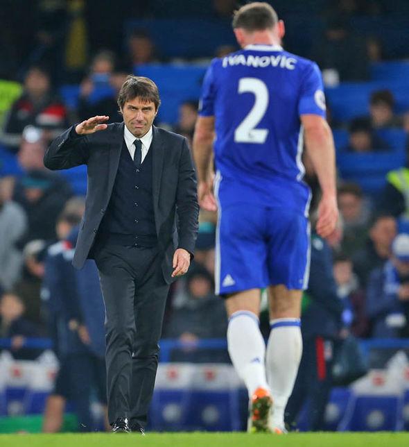 Branislav Ivanovic at Chelsea