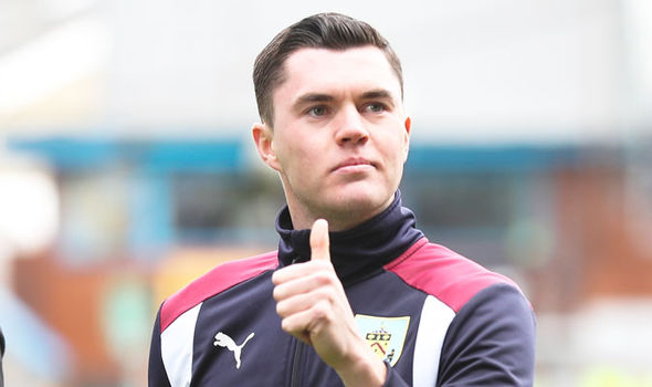 Michael Keane after Burnley's game against West Ham