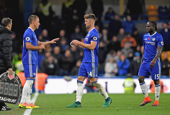 Gary Cahill John Terry captain