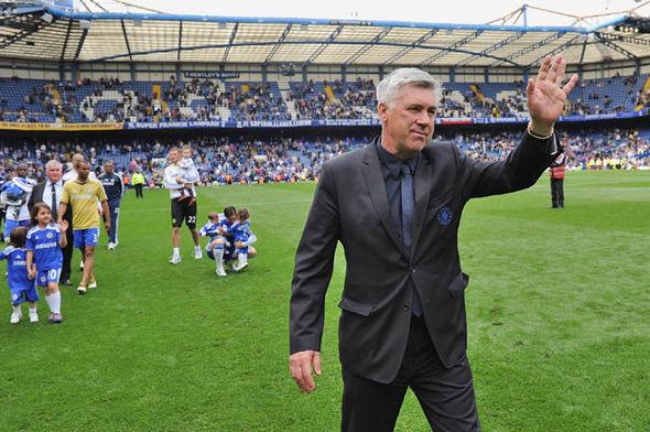 Carlo Ancelotti at Chelsea