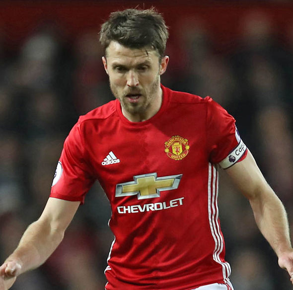 Carrick's current deal at Man United runs out in the summer