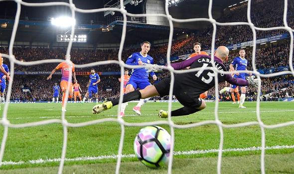 Chelsea 2-1 Manchester City Eden Hazard