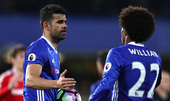 Diego Costa, Willian