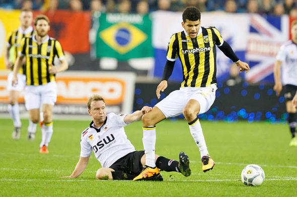 Solanke at Vitesse