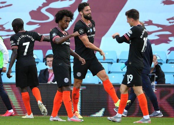 Chelsea news Frank Lampard Man City Aston Villa