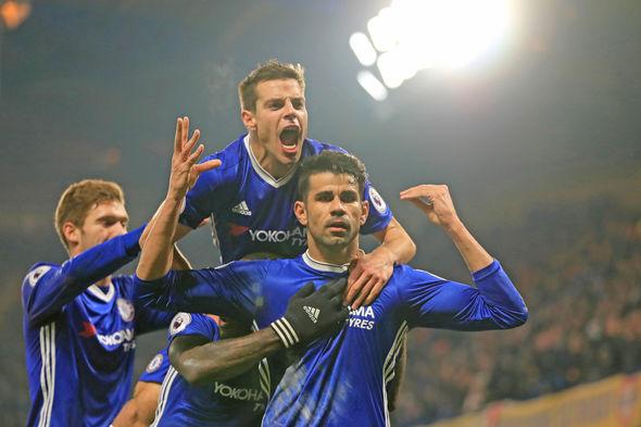 Diego Costa celebration