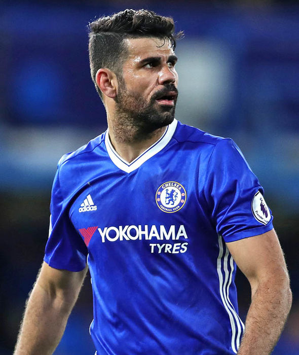 Costa has scored just three Premier League goals in 2017