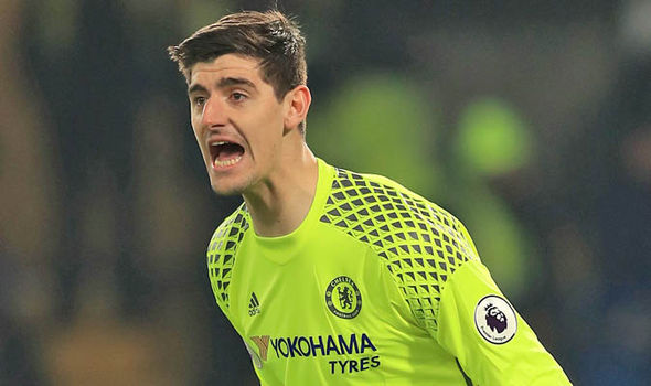 Thibaut Courtois Chelsea rest