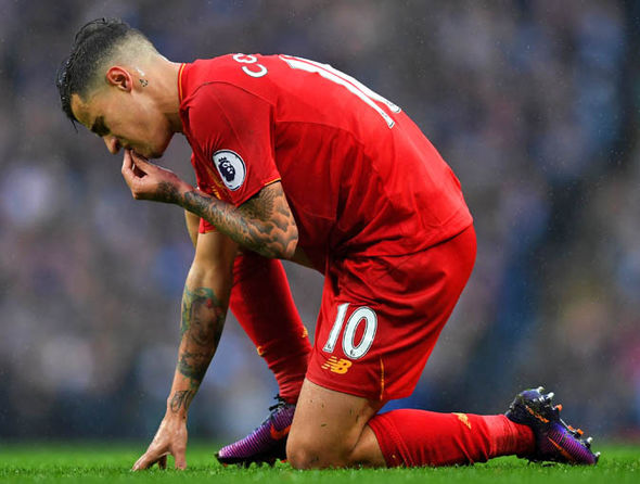 Coutinho has struggled to rediscover his early season form lately