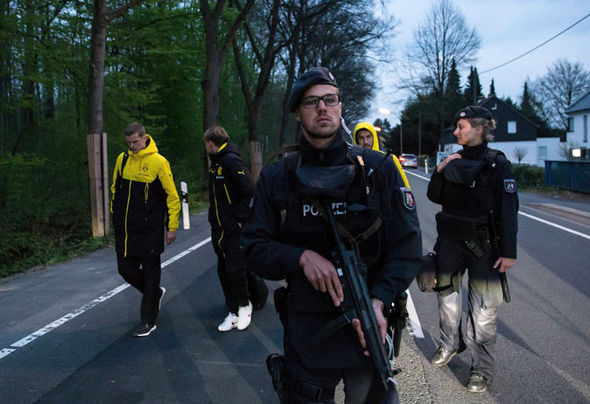 Dortmund bomb explosion