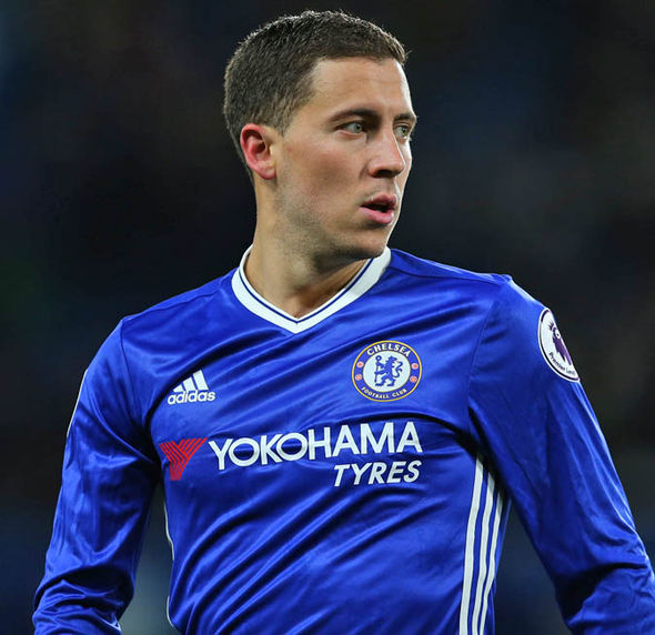 Eden Hazard's two goals gave Chelsea a crucial win against Man City