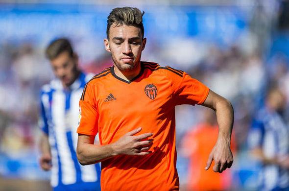 El Haddadi at Valencia