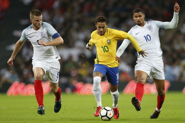 England vs Brazil LIVE: Latest scores and goal updates from Wembley