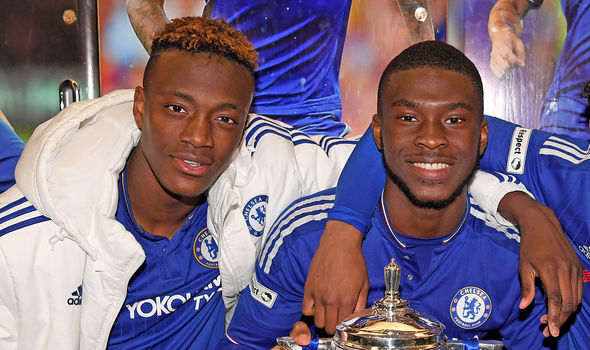 Fikayo Tomori and Tammy Abraham
