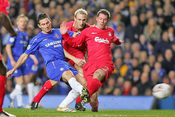 Frank Lampard Chelsea Liverpool Jamie Carragher