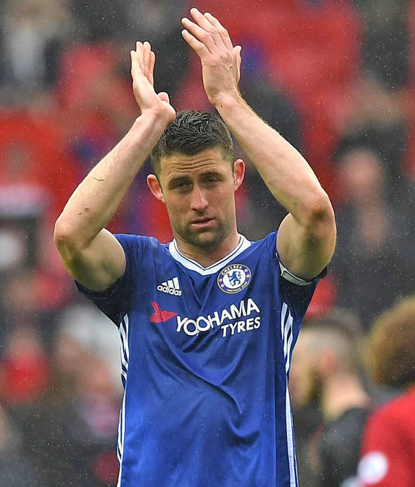 Gary Cahill is the latest Chelsea star to be hit by the bug