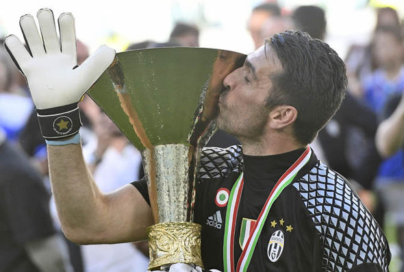 Gianluigi Buffon will become the oldest player to win the Champions League if Juventus beat Real