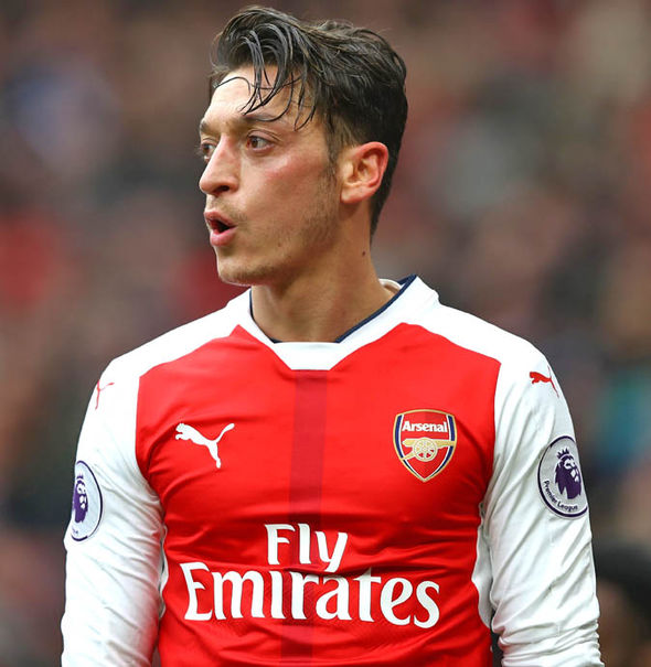 Hamann said Mesut Ozil is a prime example of what the dressing room is like at Arsenal