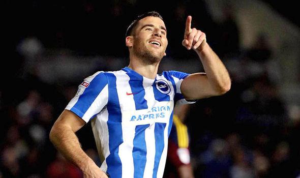 Hemed scores for Brighton