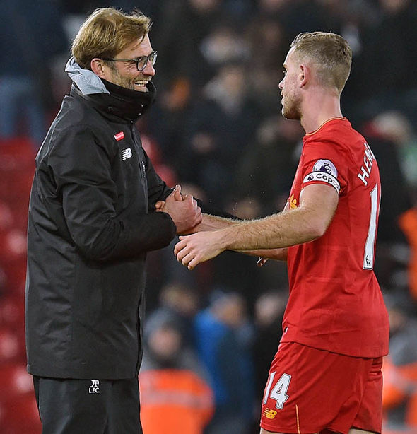 Henderson echoed Klopp's rallying call to win their remaining games
