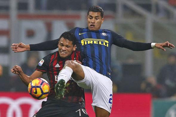 Jeison Murillo at Inter Milan