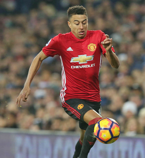 Jesse Lingard at Man United