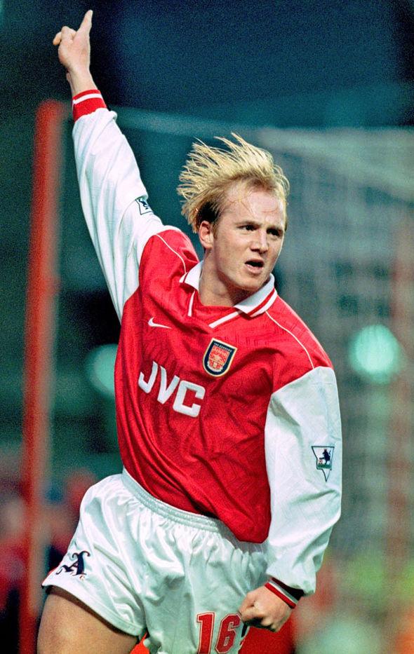 John Hartson played one season under Arsene Wenger