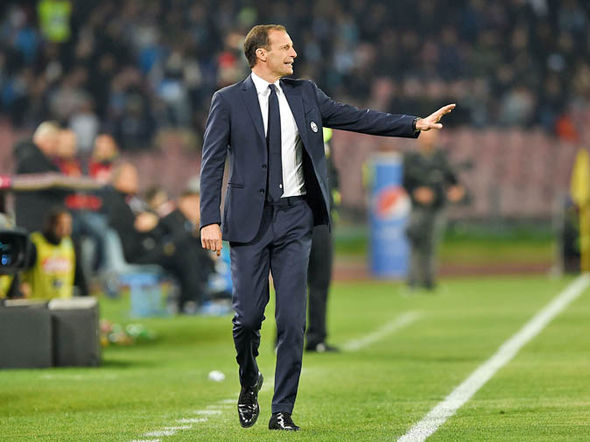 Massimiliano Allegri at Juventus