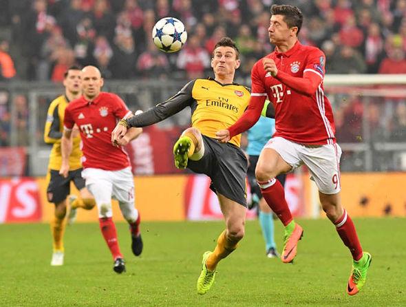 Koscielny at Arsenal