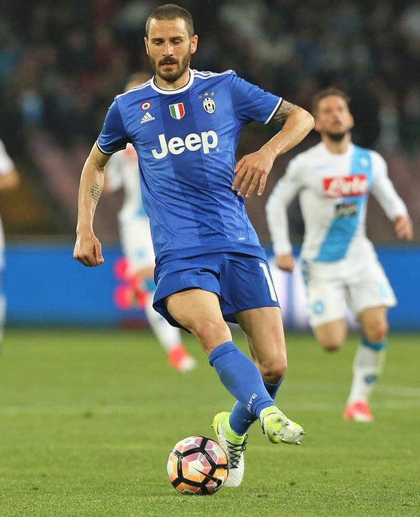 Juventus defender Leonardo Bonucci