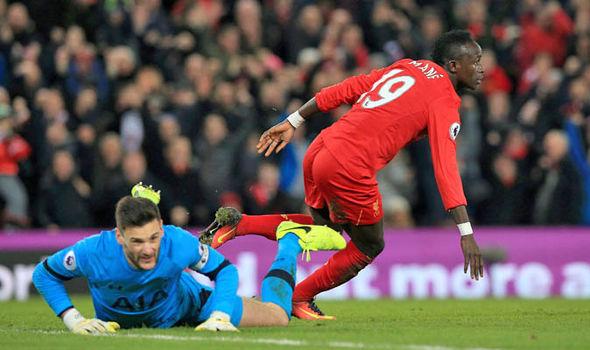 Sadio Mane scores for Liverpool