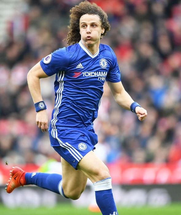 David Luiz in action for Chelsea against Juventus