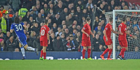 David Luiz Liverpool
