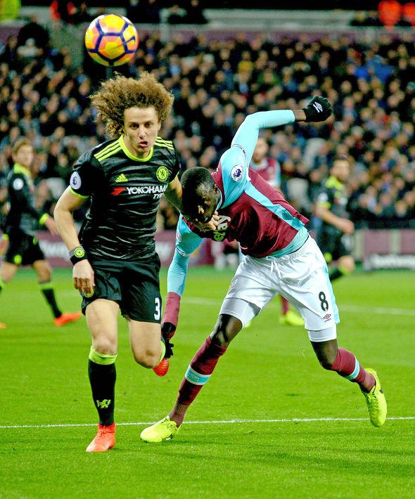 David Luiz West Ham