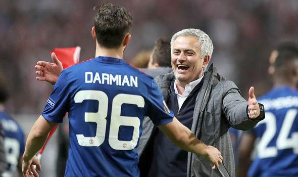 Man Utd Transfer News Matteo Darmian Jose Mourinho