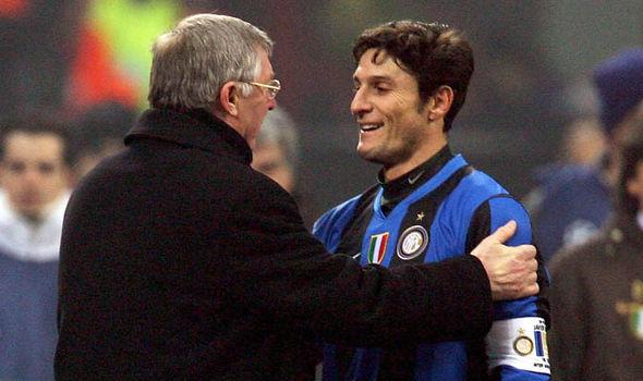 Manchester United Inter Milan Javier Zanetti Transfer News