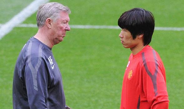 Manchester United Ji-Sung Park