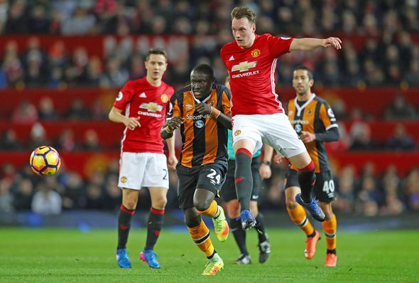 Manchester United star Phil Jones