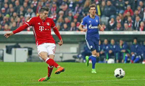 Manchester United target Robert Lewandowski