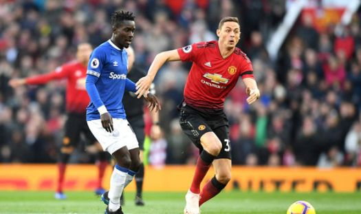 Man Utd 2-1 Everton: Paul Pogba and Anthony Martial goals ...