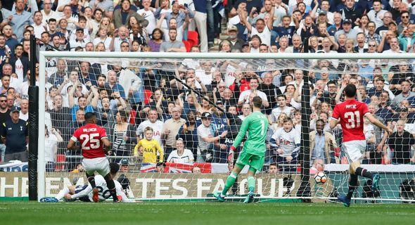 Manchester United vs Tottenham: FA Cup semi-final updates from Wembley  Man Utd vs Tottenham LIVE updates: Latest FA Cup semi-final score and news from Wembley | Football | Sport Manchester United vs Tottenham FA Cup semi final updates from Wembley 1315653