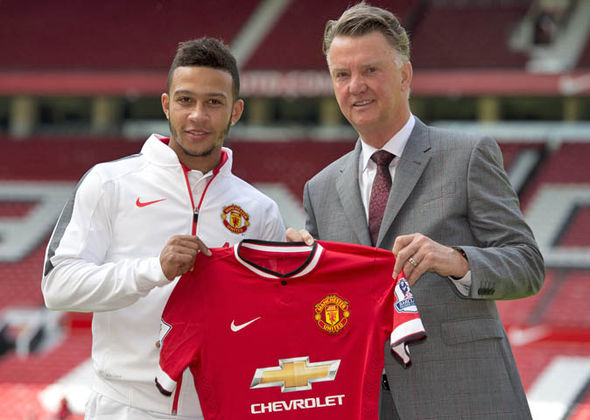 Memphis Depay joined United just 18 months ago