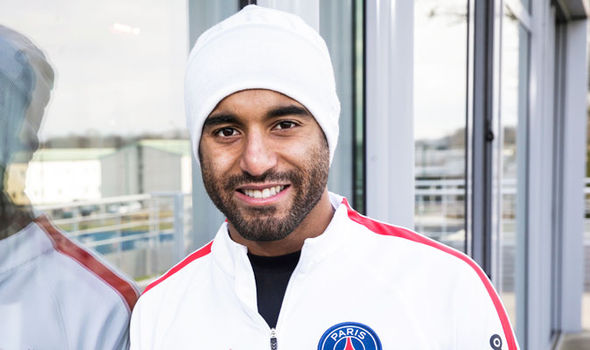 Paris Saint-Germain star Lucas Moura