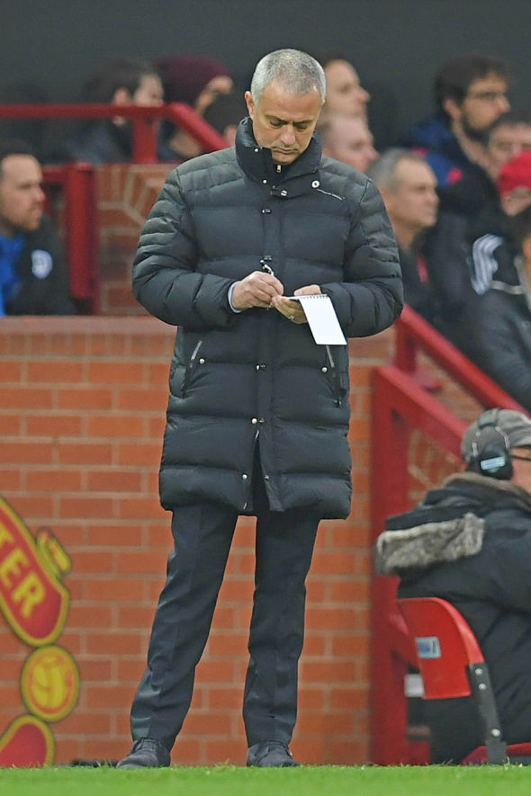 Jose Mourinho Manchester United Wigan