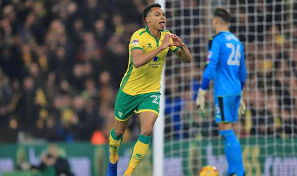 Norwich score against Newcastle