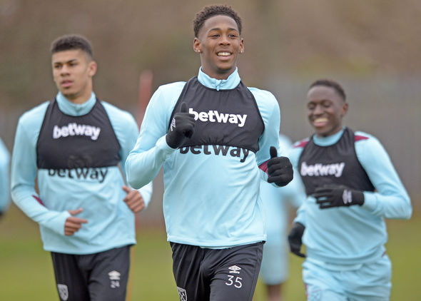 Reece Oxford West Ham Reading