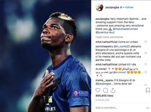 Paul Pogba Instagram