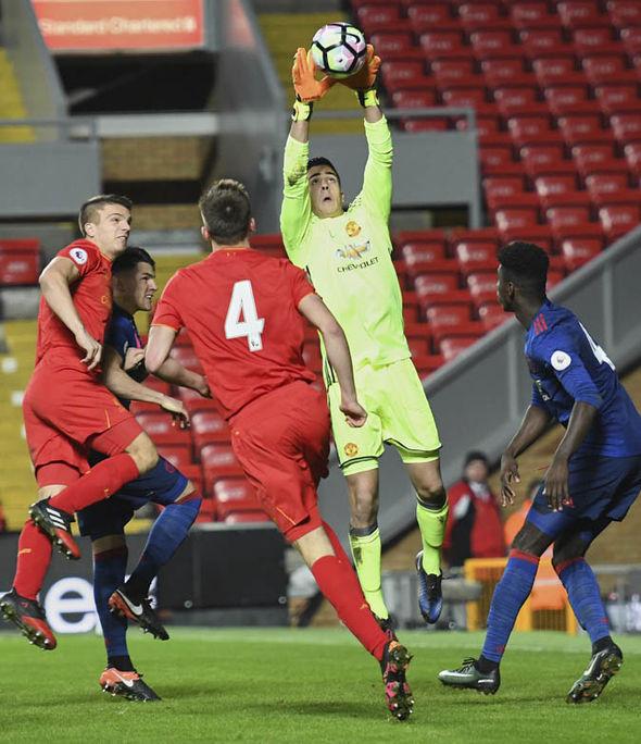 Pereira in Man Utd reserves