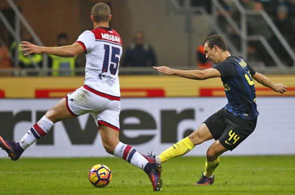 Perisic scores for Inter