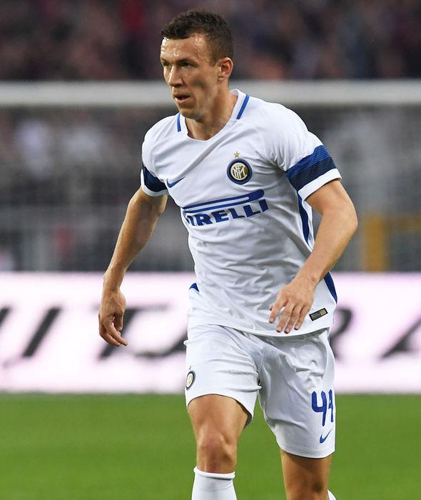 Inter Milan winger Ivan Perisic